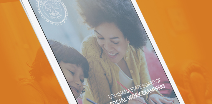 Louisiana State Board of Social Work Examiners Website Re-design